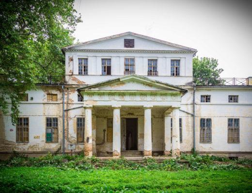 Foto/Pałac w Szymanowie/ nieruchomosciszybko.mazowsze.pl